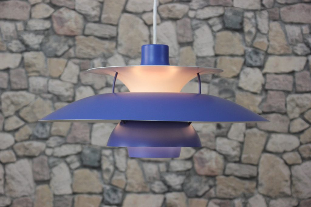 LOUIS POULSEN PH 5 LAMPE DECKENLAMPE DANISH 60er CEILING LAMP 60s NO2